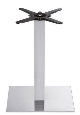 Rivereia Brushed Steel Tabl;e Bases For Rectangular Table Tops