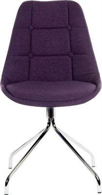 Sienna Chair In Plum Front Shot