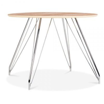 Stockholm Dining Table Natural Top