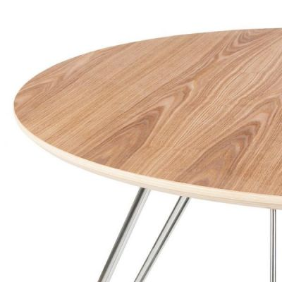 Stockholm Dining Table Oak Top Detail