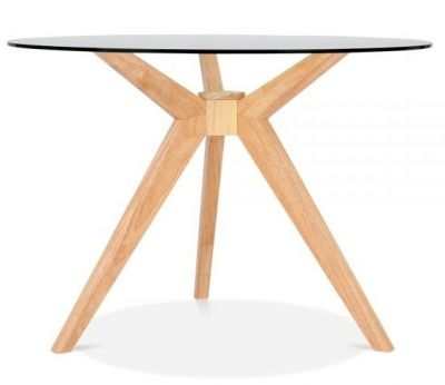 Valencia Table With A Natural Frame 1