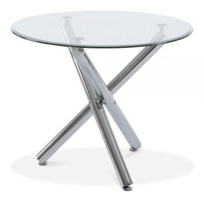 Moritz Round Glass Table
