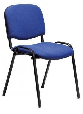 Stakka Chair Blue Fabric
