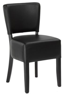 RGosie V2 Dining Chair Dark Brown Leather