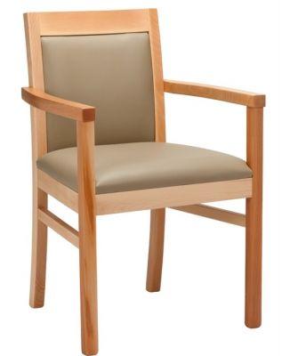 Trafalgar Leather Dining Arm Chair