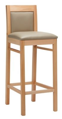 Trafalgar Wooden High Stool