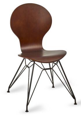 Monsoon Helx Black Chair Wenge