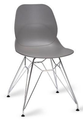Mylo V5 Chair With A Pyramid Frame Grey