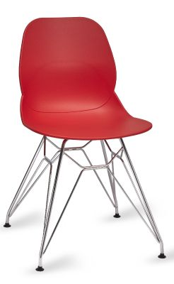 Mylo V5 Chair With A Pyramid Frame In Red