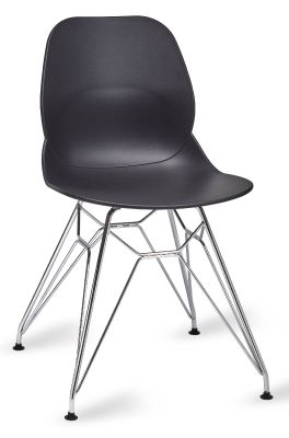 Mylo V5 Chair With A Pyramid Frame In Black