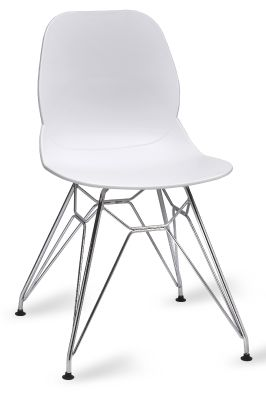Mylo V5 Chair With A Pyramid Frame N White