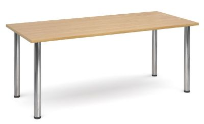 Gm Deluxe Rectangular Table With A Beech Top