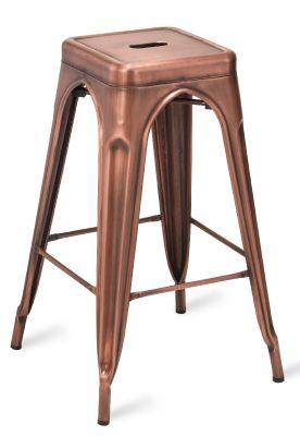 Tollix V2 High Stool In Antique Copper