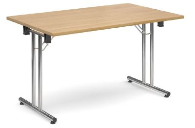 Thorex Folding Ttable Beech Top