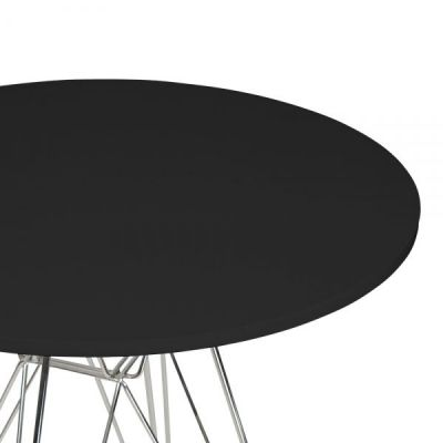 Revo Table Black Top Detail