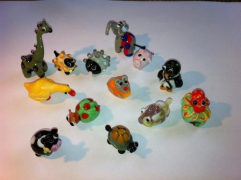 Beadimals! Create your own Lampwork Animals