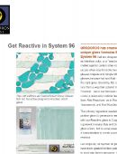 Get Reactive in System 96