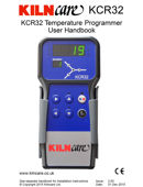 Kilncare KCR32 User Guide