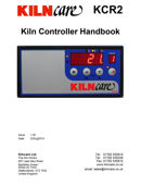 Kilncare KCR2 User Guide