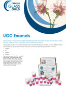 UGC Enamels, MUD, Medium and Layering Mix