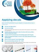 Applying decals