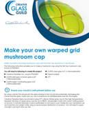 Warped grid mushroom cap tutorial