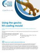 Gecko frit casting mould tutorial
