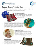 Fusers Reserve design tips