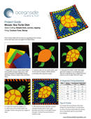 Mosaic Sea Turtle Dish