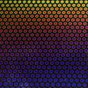 Rainbow Dots 2 on Thin Black 2