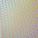 Crinklized Honeycomb 1 on Thin Clear 2