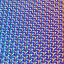 Rainbow 1 on Thin Radium Clear