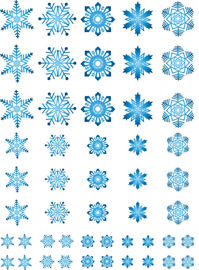 NEW Snowflakes blue 2020