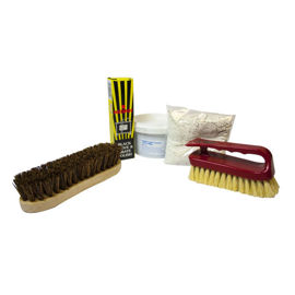 Cementing and polishing kit