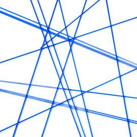 Dark blue trans stringers