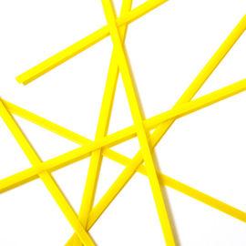 Yellow semi opal noodles