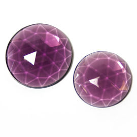 Flatback Faceted Jewels Amysthyst 2