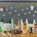 PGPCCP440 5A Thorndown Peelable Glass Paint Christmas Craft Pack scenes