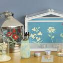 PGPSFCP440 5A Glass Paint Summer Floral Craft Pack arrangement