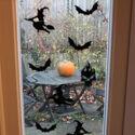 PGPHCP440 5C Thorndown Bat Black Peelable Glass Paint stencils