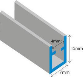 Zinc U Section