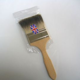 "Badger Softening Brush - Small Flat 2"""