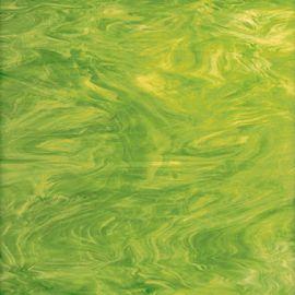 Spectrum Wispy Opal - Lime Green/White