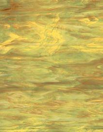Spectrum Wispy Opal - Amber/pale green/white