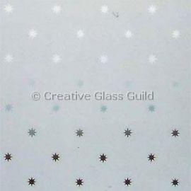 Etched Glass - Star