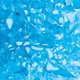 System 96 Frit - Aqua Iridescent Transparent