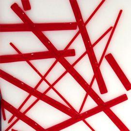 System 96 Noodles - Cherry Red Transparent