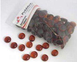 Medium Amber Pebbles - trans