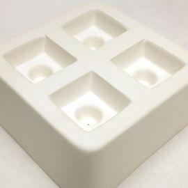 Square Knob (x4) Casting Mould