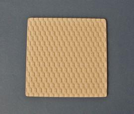 """Weave Texture Mould 7"""" x 7"""""""